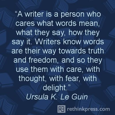 Writers Ursula LeGuin