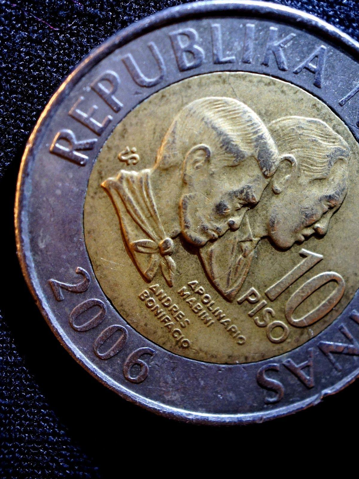 Philippine 10 Peso Coin Toper S