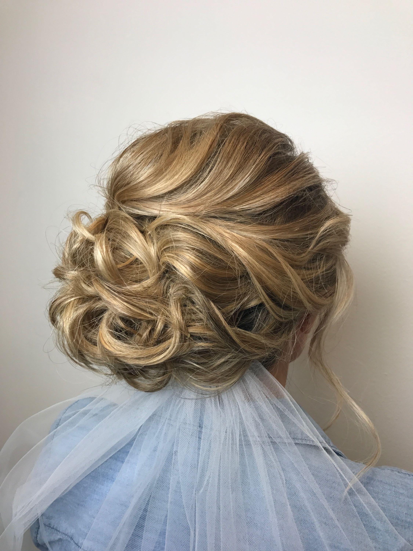 Bridal Updo Soft And Side Swept Reveal Salon And Spa Omaha Ne Hairbynatashafehlhaber Bridal Updo Wedding Hairstyles Hair