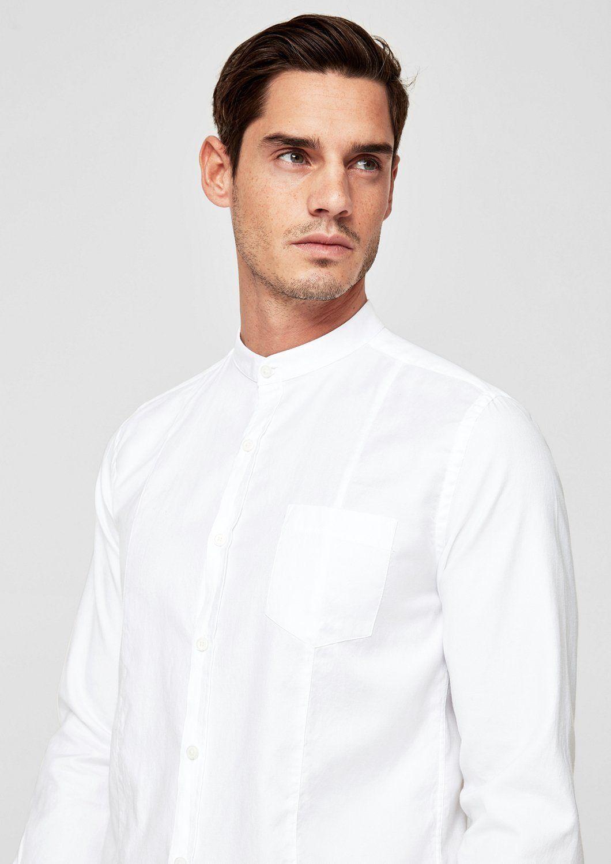 9ad49678cf4d Oliver RED LABEL Slim  Hemd mit Stehkragen Jetzt bestellen unter  https