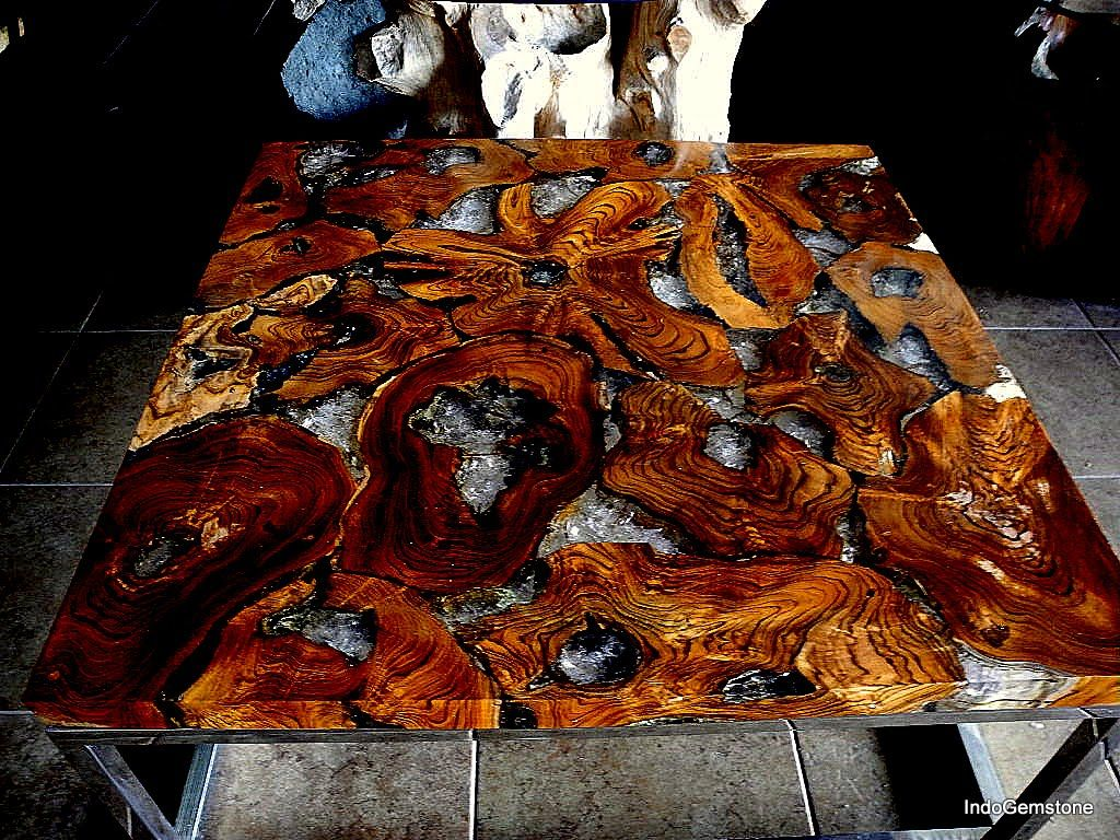 Image Result For Stone Epoxy Table Drift Wood