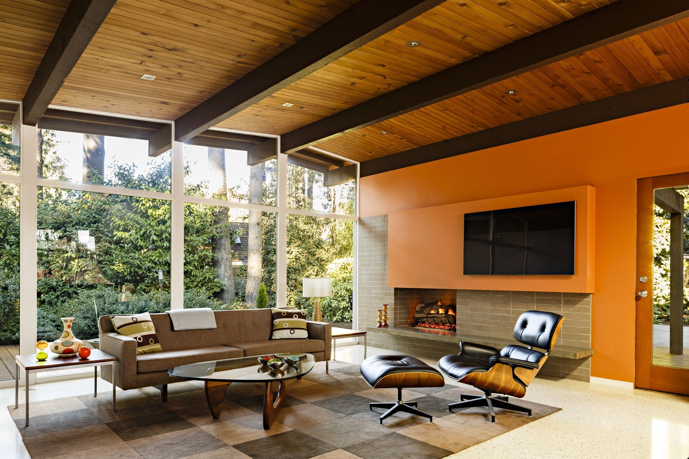 Photo of in reinvigorating a classic midcentury home in portland