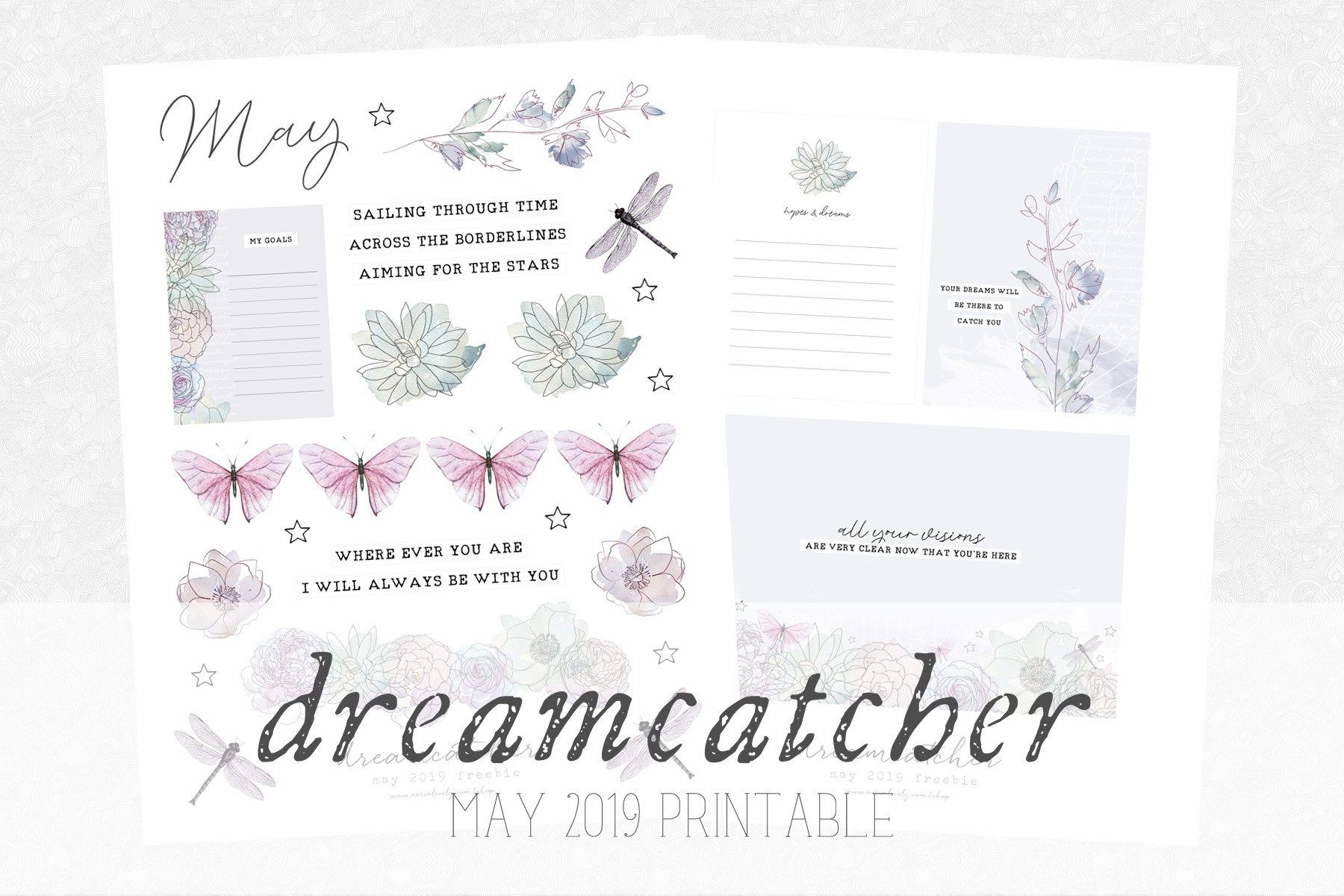 Dreamcatcher Journaling Printable