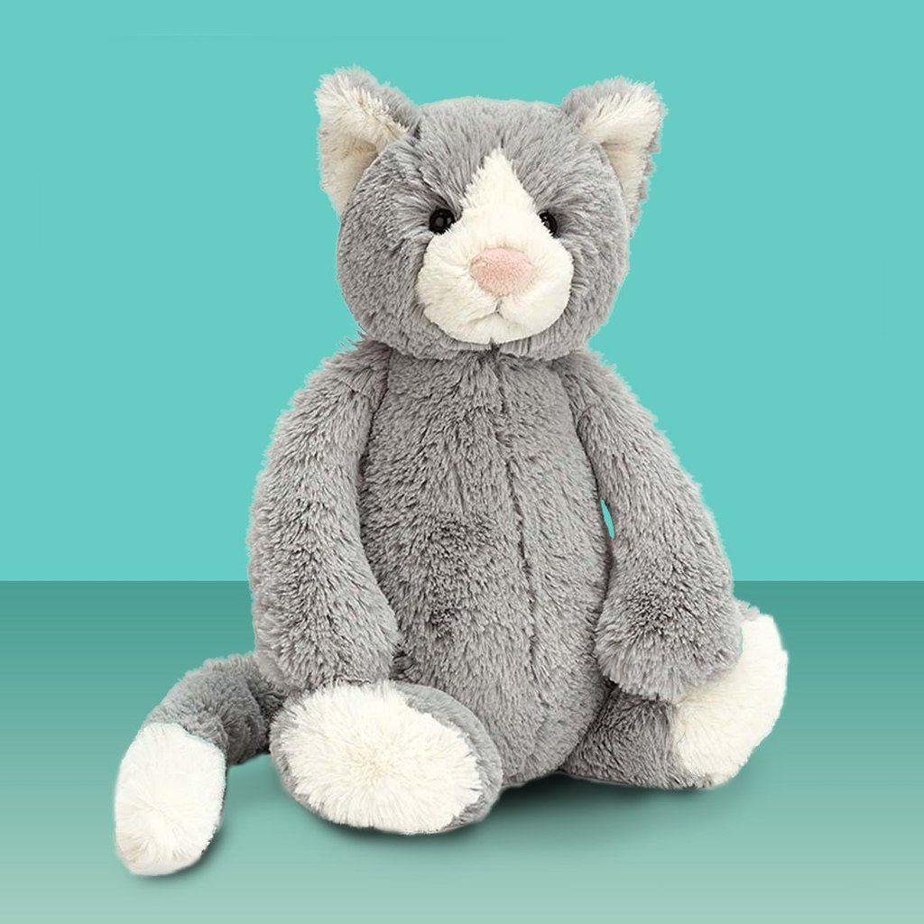 Jellycat Medium Bashful Cat Jellycat Cats Soft Plush