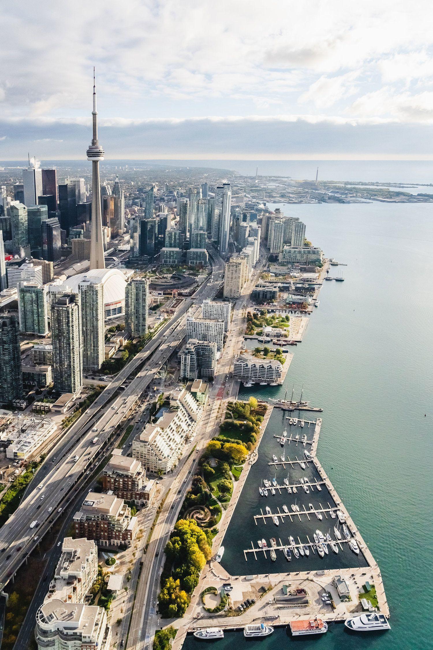 Aerial Toronto 2018 • Future Landscapes