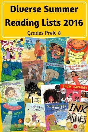 Diverse Summer Reading List 2016 Diversity Classroom Books