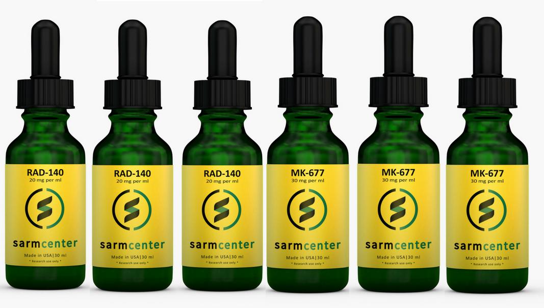 Sarm Center - Ultimate Growth Stack: 3 x TESTOLONE (RAD-140