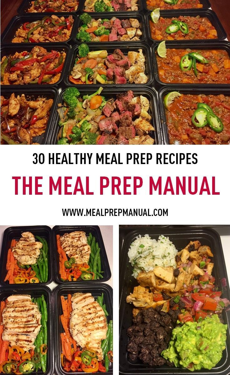 start meal prepping this year! meal prep recipes to help you lose
