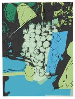 Grapes: one plate (F. & S. II.193) by Andy Warhol, 1979