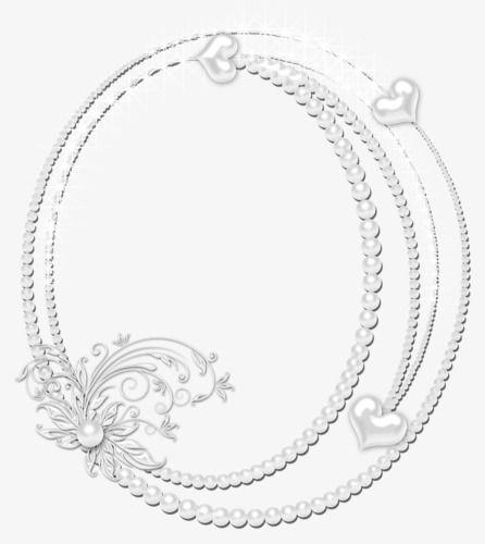 Pearl white oval frame, Frame, White Frame, White Oval Frame PNG ...