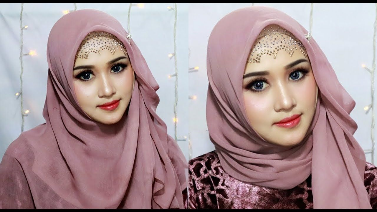 Tutorial Hijab Buat Pesta Pernikahan Pesta Pesta Pernikahan Hijab