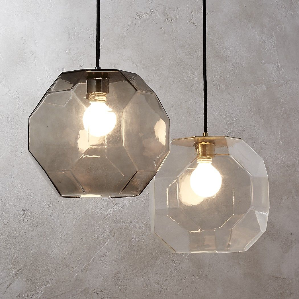 Shop Flat Glass Pendant Light. Inspired by a 10-D geometric figure