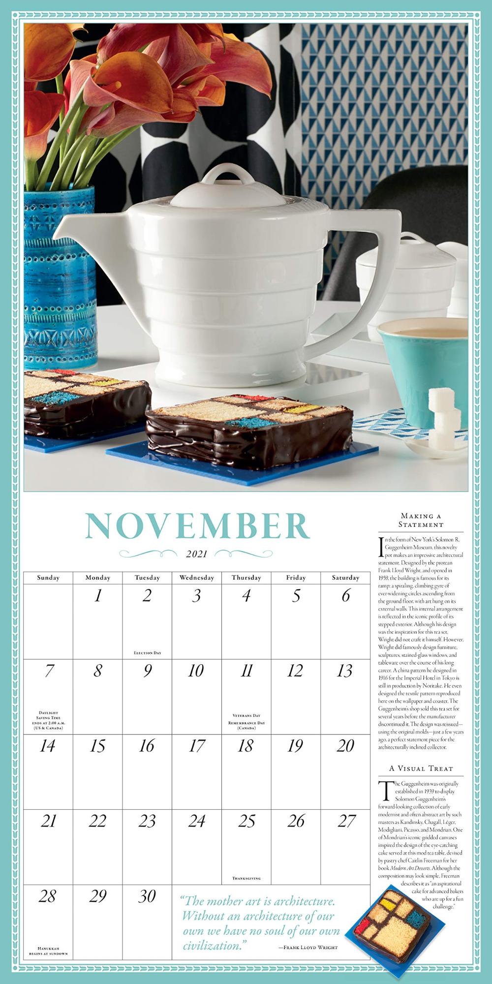 Collectible Teapot Tea Wall Calendar 2021 Workman Publishing 9781523508914 Amazon Com Books In 2020 Wall Calendar Tea Pots Calendar