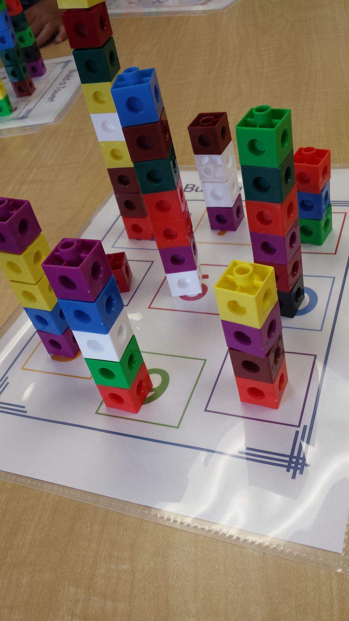Tower Building Printable Freebie