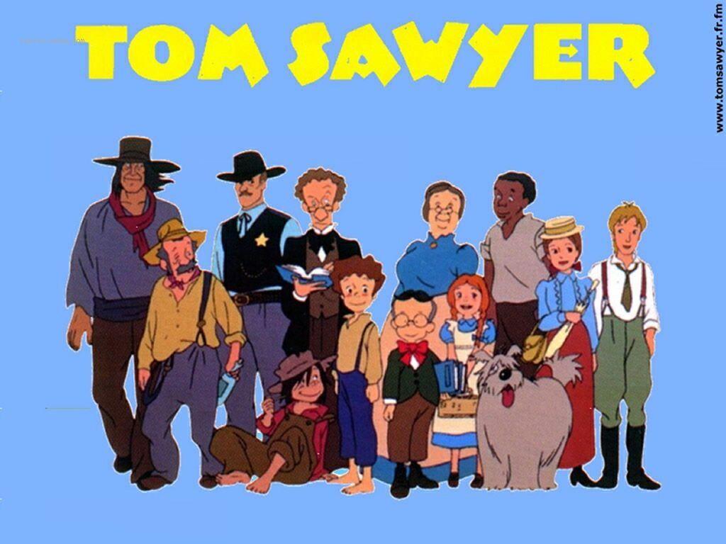 Tom sawyer est une s rie t l vis e d 39 animation de 49 - Coloriage tom sawyer ...