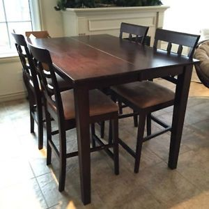 Dark Wood Dining Table Image By Katee Bensette On Home D Ecor 4 Chair Dining Table Dining Table