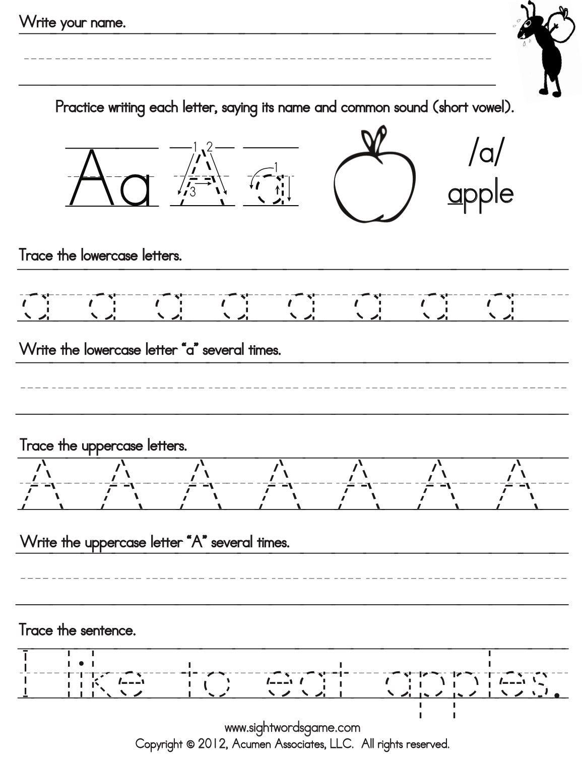 Pin By Jennifer Scott On Kids These Days Writing Worksheets Writing Practice Writing Practice Worksheets