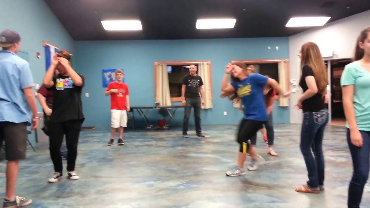 Youth group games telephone charades | Youth group games