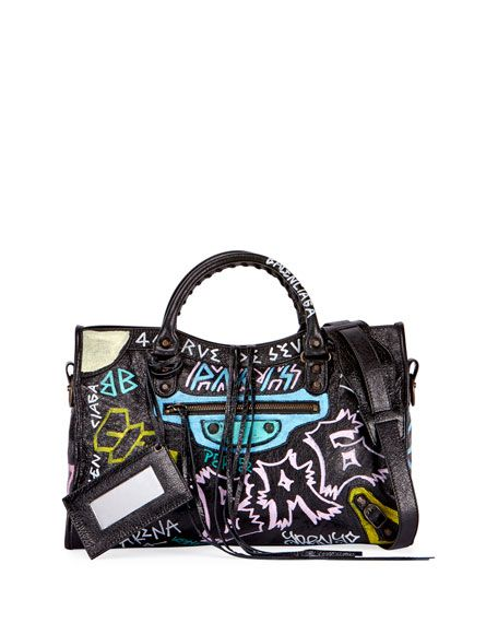Sac en cuir Classic City Graffiti 1yNXVv5