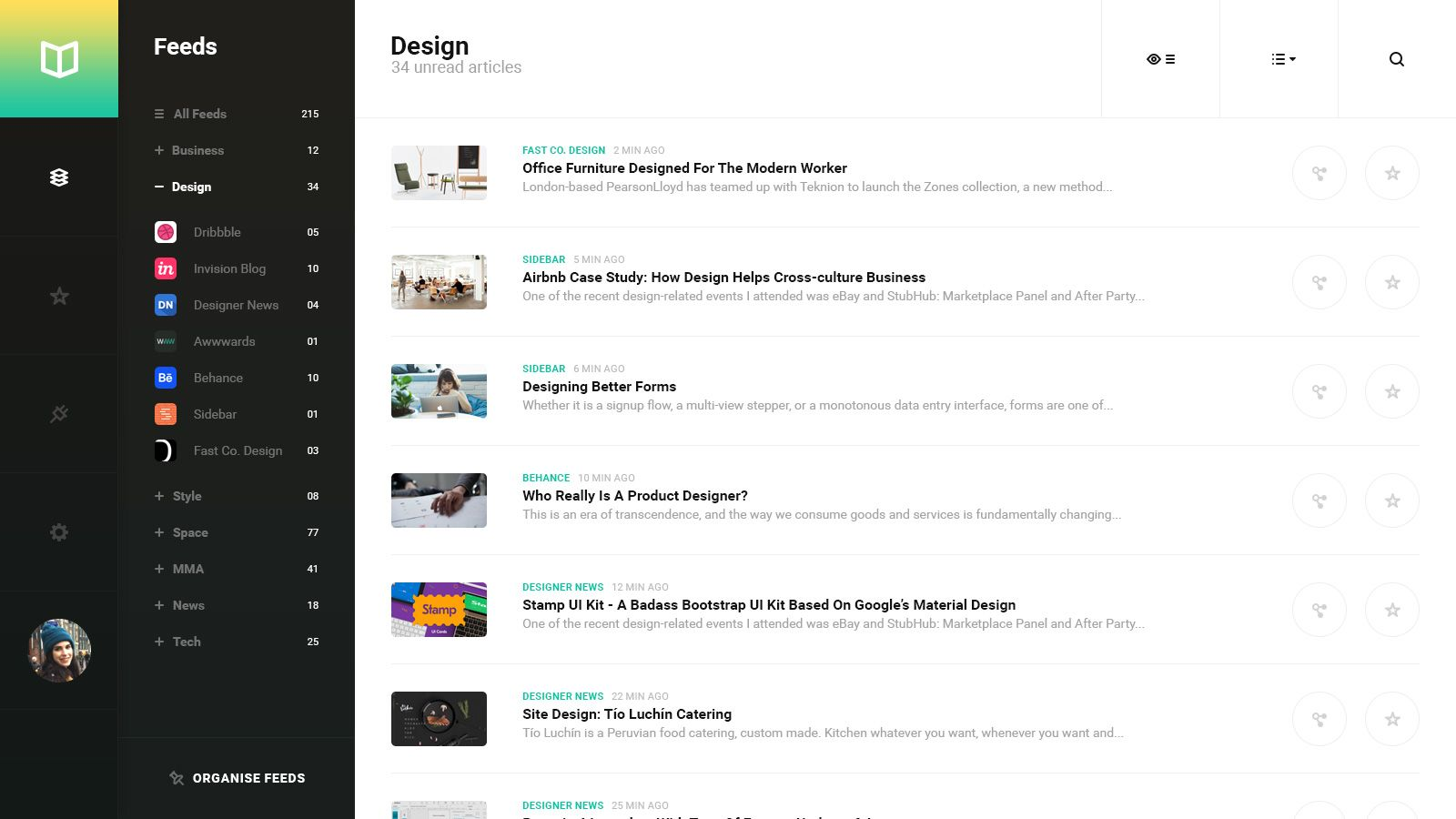 Introducing GoodRead A beautifully simple RSS reader for