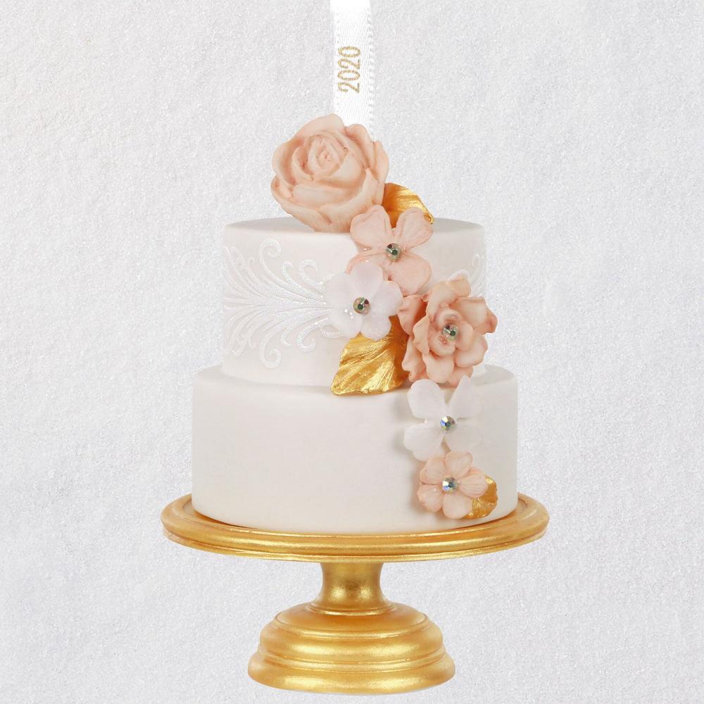 26++ Hallmark wedding cake ornament ideas