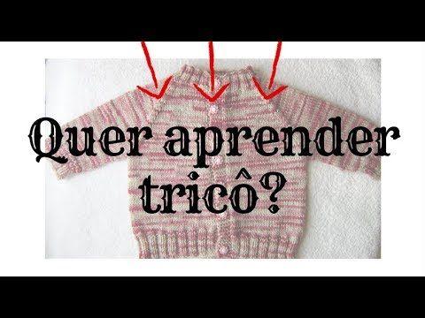 APRESENTAÇÃO: Aprenda como fazer tricô passo a passo I Para Iniciantes