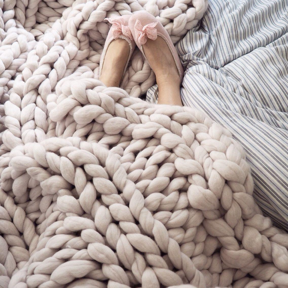 Super Chunky blanket from Fru Nordström