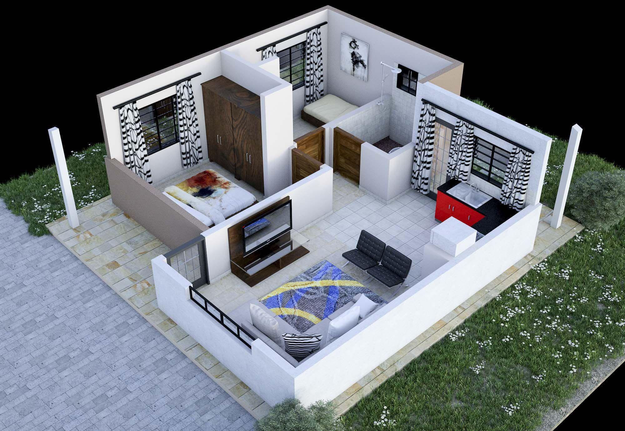 KOTO Housing Kenya - Koto house designs | House design, My ...