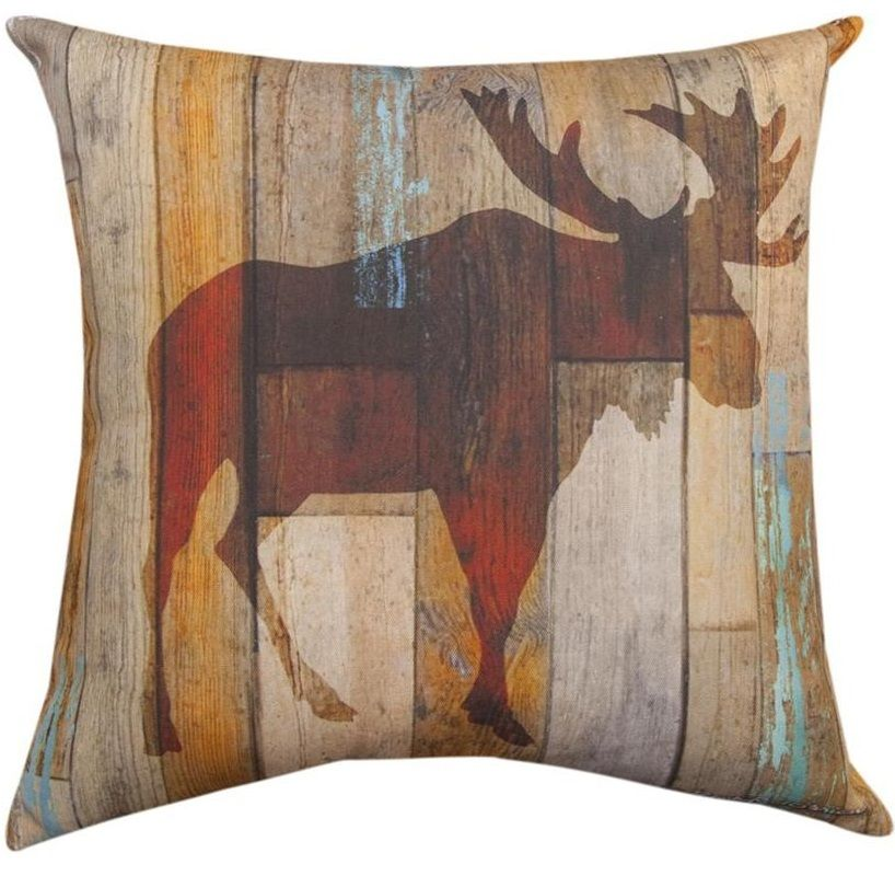 Pin By Wildlife Wonders On Moose Gifts Home Decor Indoor Outdoor Pillows Outdoor Pillows Square Throw Pillow