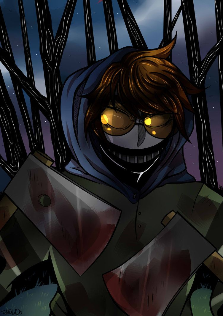 The colour is great and it looks so clear!! Creepypasta