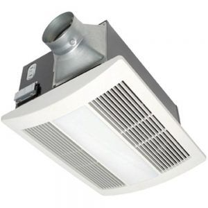 Quiet Bathroom Exhaust Fan With Heater And Light