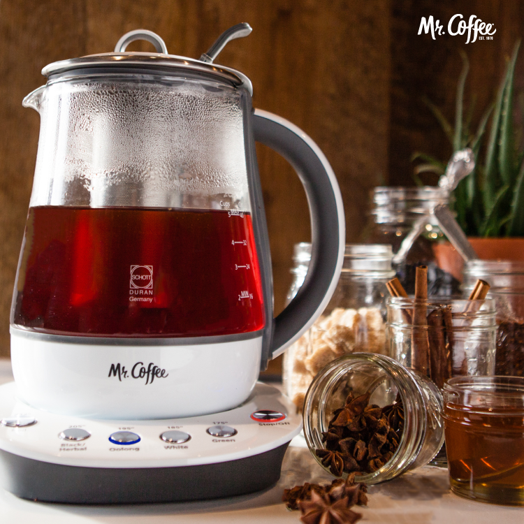From Energizing To Wellness We Re Obsessed With Creating Healthy Flavor Combinations The Mr Coffee Tea Maker And Kettle Find Your New Fave