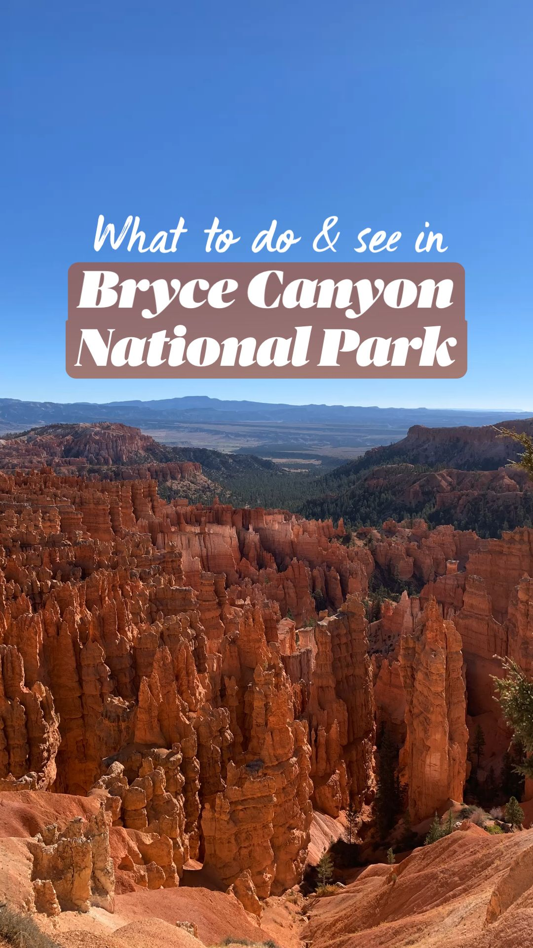 What to do & see in Bryce Canyon National Park