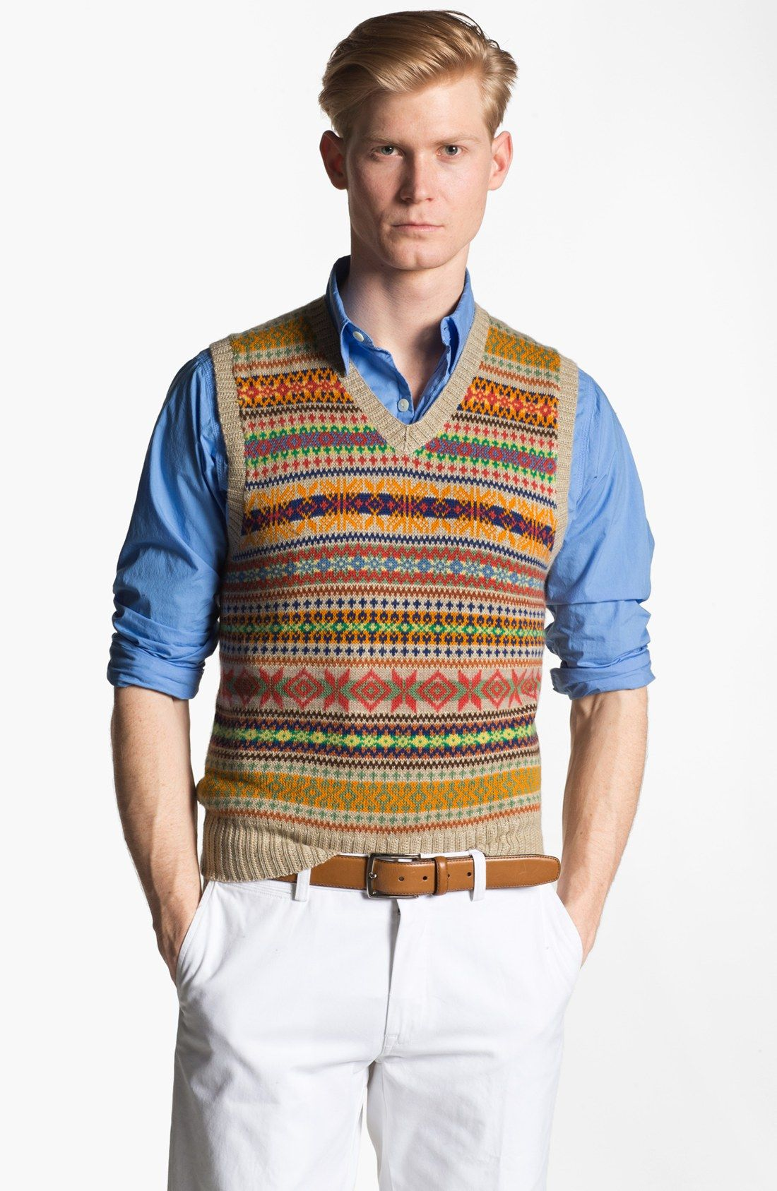 ebee4039cdc0 Image result for fair isle vest | Wardrobe inspiration | Sweaters ...