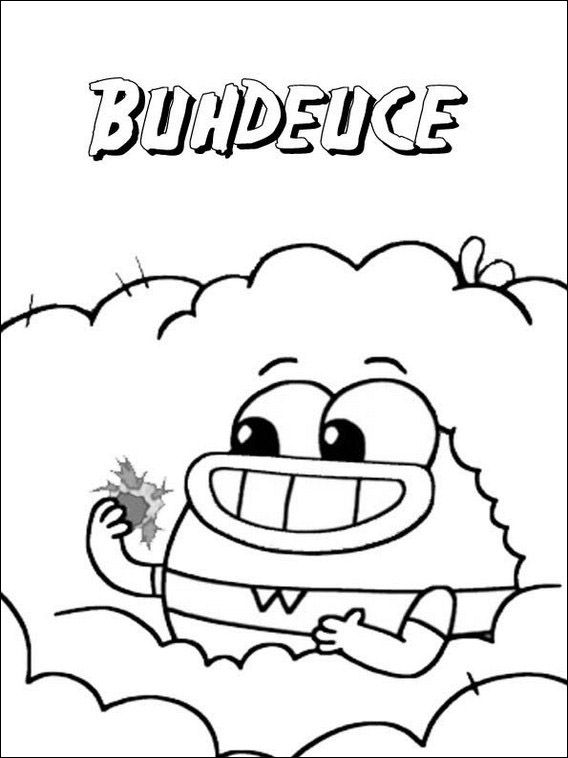 Breadwinners Coloring Pages 9