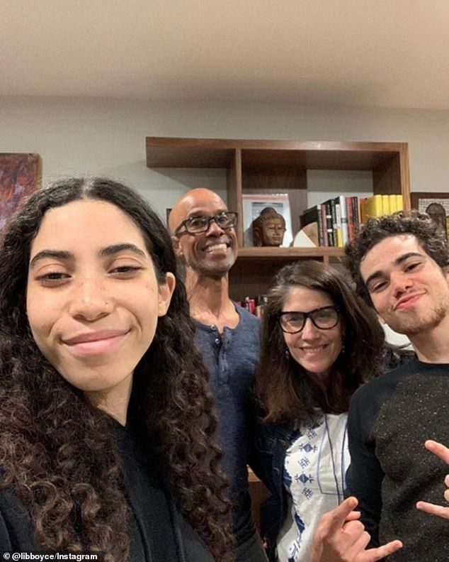 Disney star Cameron Boyce found dead at 20-years-old #disneychannelstars 'It's very important for people not only see in Hollywood and feel represented but also sort of even the playing field a bit' Cameron said. Pictured with his sister Maya and parents Libby and Victor #cameronboyce Disney star Cameron Boyce found dead at 20-years-old #disneychannelstars 'It's very important for people not only see in Hollywood and feel represented but also sort of even the playing field a bit' Cameron said. P #cameronboyce