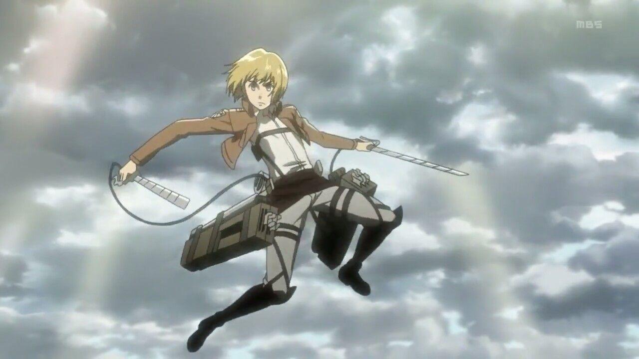 Armin Arlert Screencap Attack On Titan Anime Armin Armin Snk