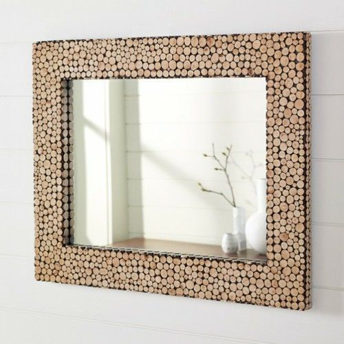 Decorations for DIY wall mirror frame Cork square | DIY for the casa ...