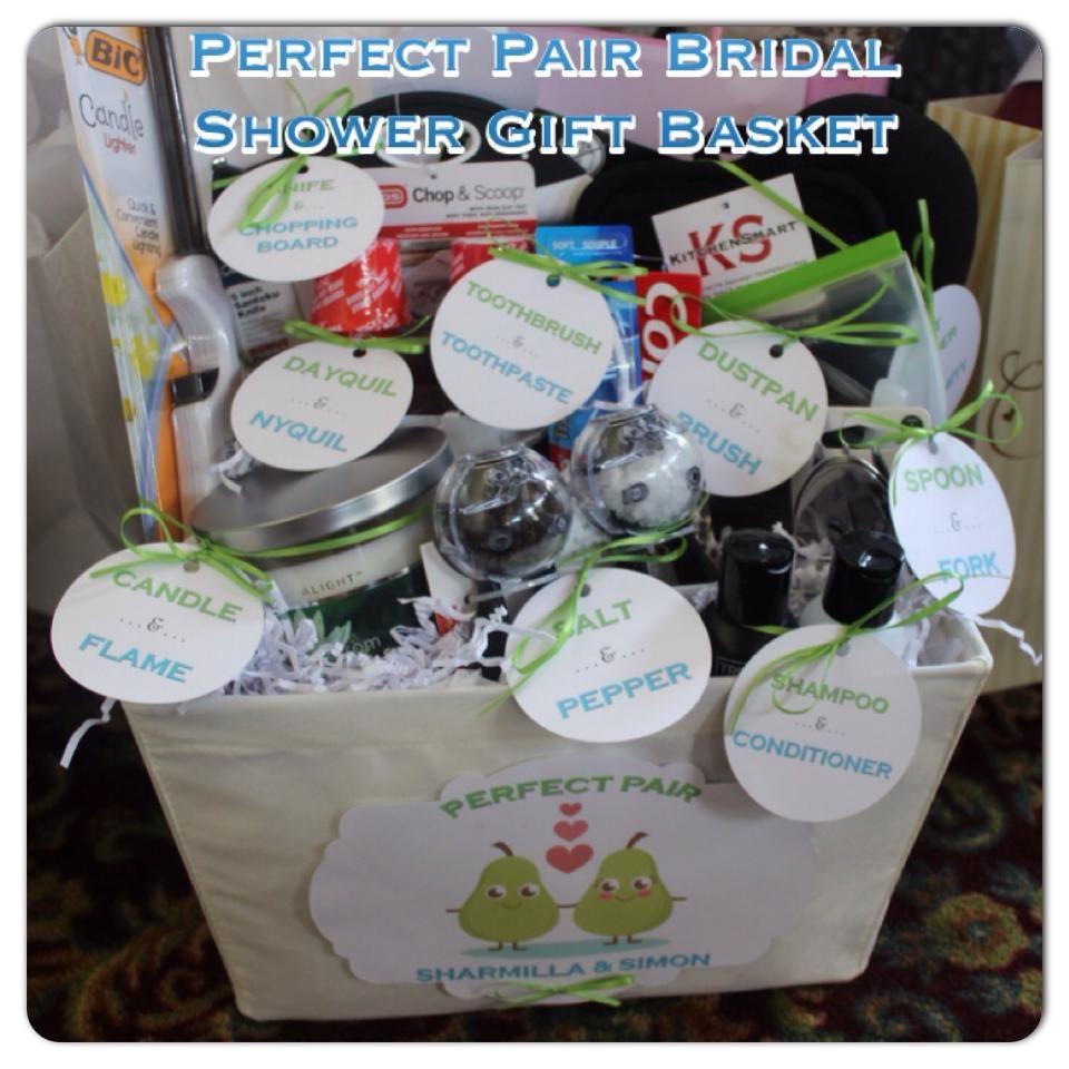 "Perfect Wedding Gift Ideas: #bridalshower #PerfectPair #giftbasket Found This ""Perfect"