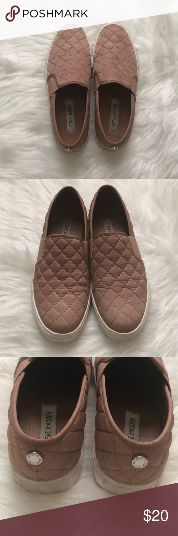 590bc53cf71 Steve Madden Shoes Lightly used Steve Madden shoes in rose gold. Steve  Madden Shoes Flats