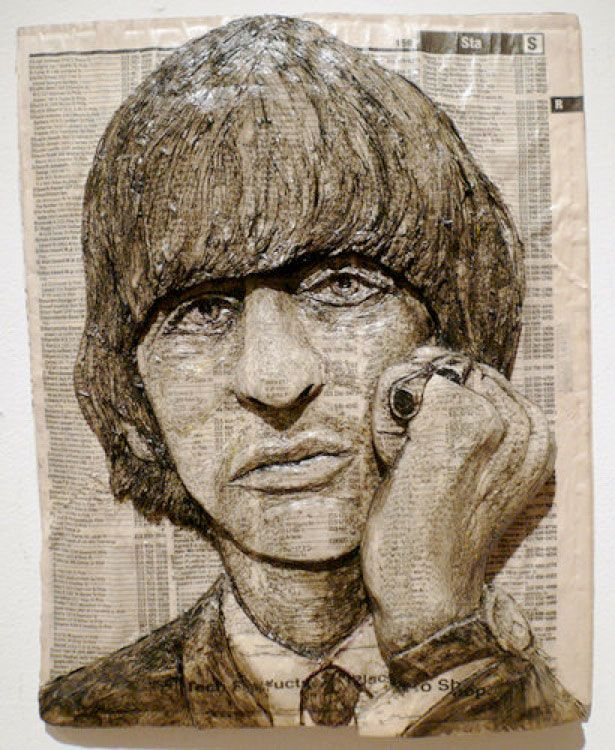 Unbelievable Celebrity Phone Book Carvings Phone Books Sketches - Unbelievable portraits carved phone books