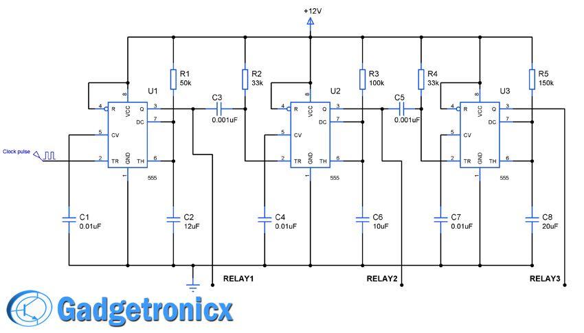 Amateur radio tr sequencing circuit