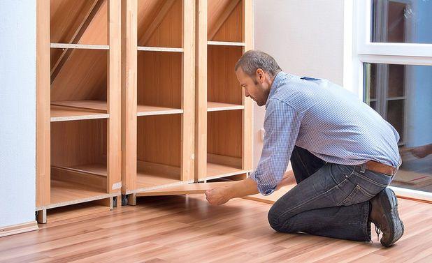 Drempelschrank Bauen Kleiderschrank Für Dachschräge