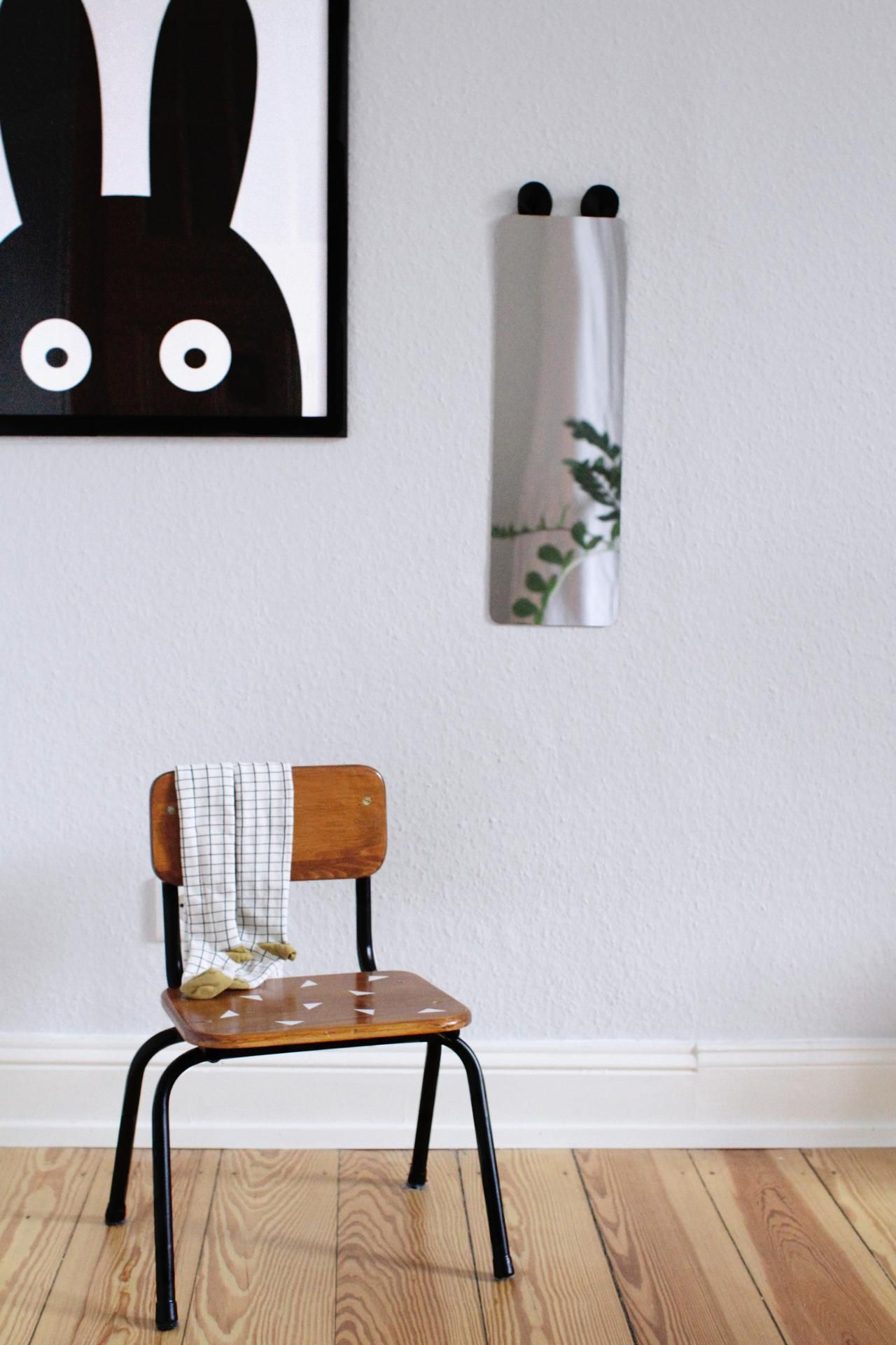 IKEA Hack - Kinderzimmerspiegel mit Ohren | paulsvera | Spiegel ...