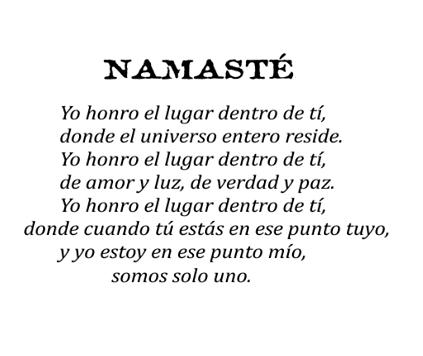 Namasté Mandalas Frases Sabias Namaste Y Afirmaciones