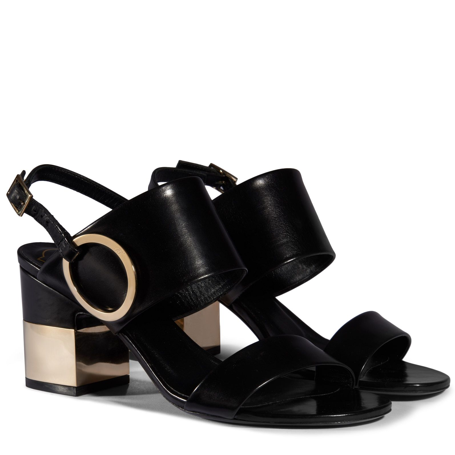 Podium Sandals in Leather now on sale on the official Roger Vivier online  store.