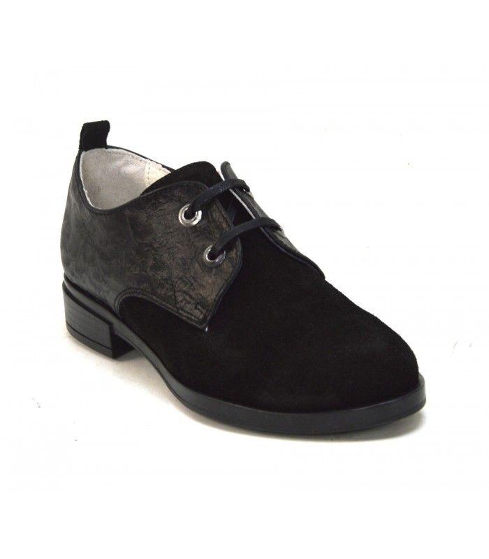 edd1a58bf34 Gabina® : Стилни дамски обувки от естествен черен велур | Shoes ...