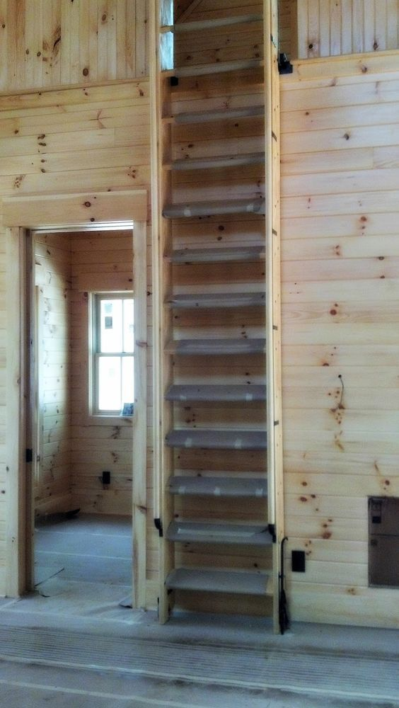 Retracting Ship S Ladder Stairs Pinterest Echelle