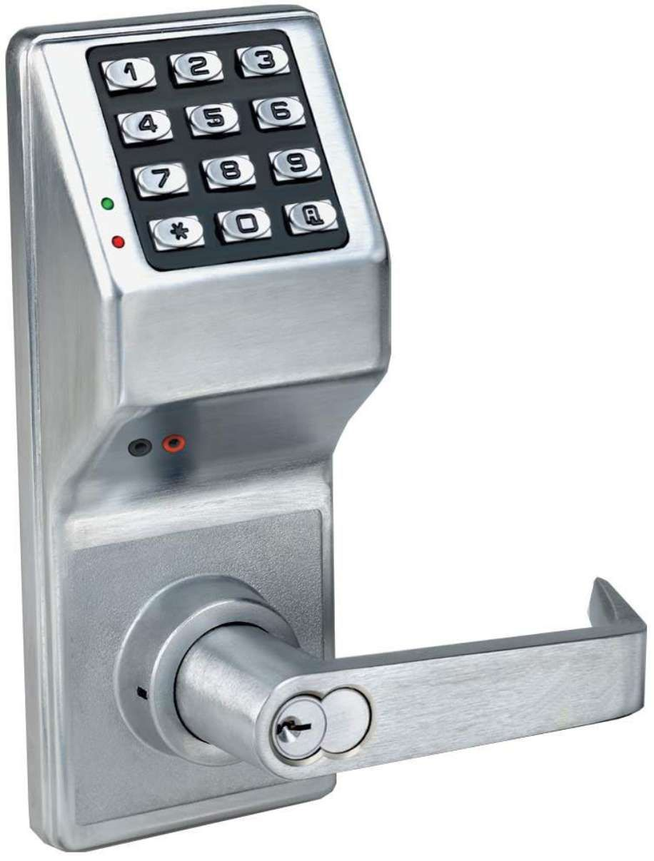 p button door push lock electronic