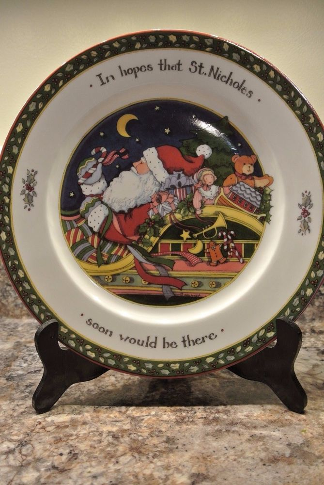 Susan Winget A Christmas Story Chrismas Dishes 10 3/4\